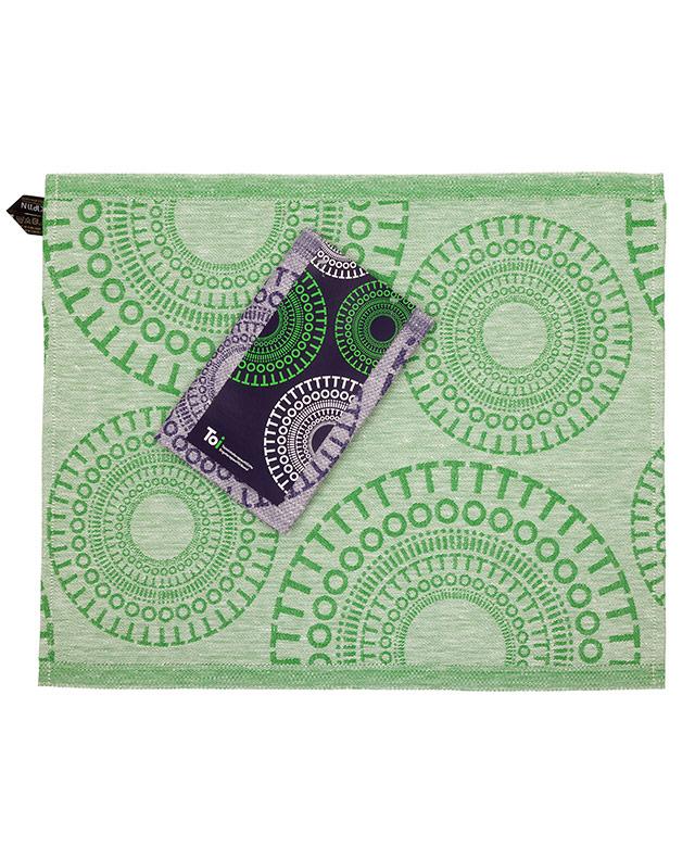 Custom Design flat woven linen, bench cover