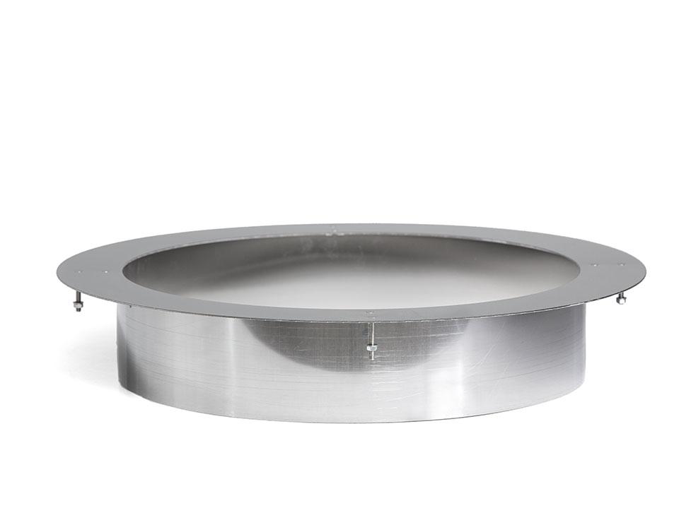 Tahko: Pipe- embedding flange: Steel