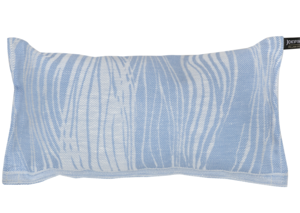 Sauna Pillow: Virta white/light blue