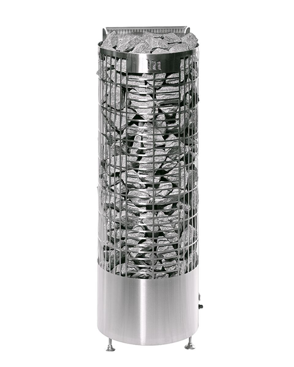 Floor standing heater: Kalla - Steel