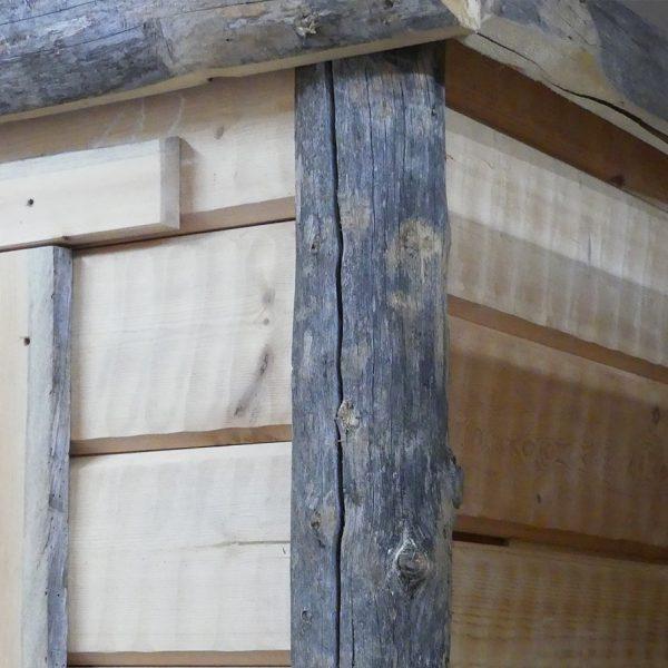 Indoor Sauna Corner detail