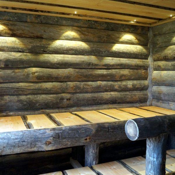Kelo panel sauna