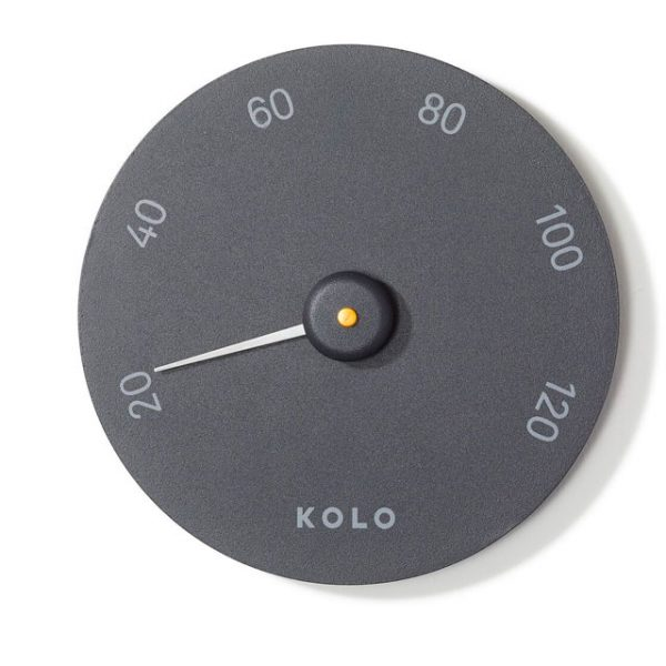 KOLO thermometer black
