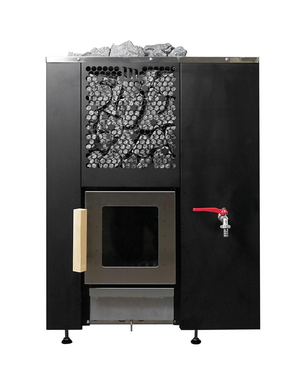 Motti: Wood fired sauna heater
