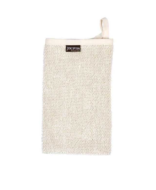 Wash mitt: Villa white beige